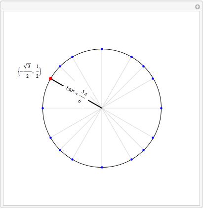graphics - Generate a Unit Circle Trigonometry - Mathematica Stack ...