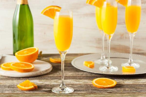 receitas de drinks mimosa