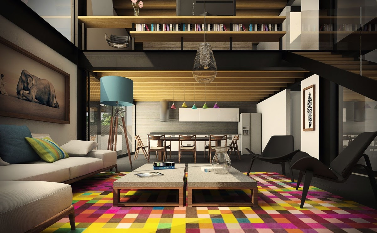 30 Double Height Living Rooms That Add An Air Of Luxury