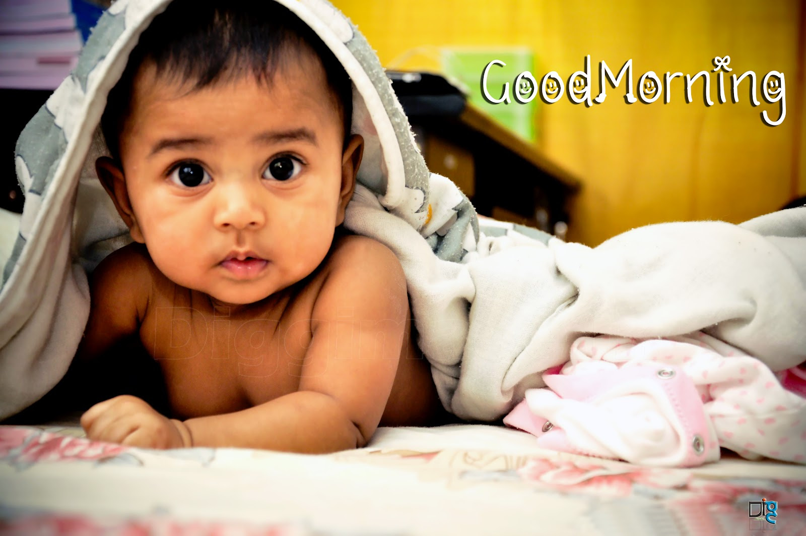 Cute Baby By Gud 22 Good Night With Cute Baby Hd Wallpapers 9