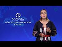 SAĞLIK İŞLETMELERİNDE KALİTE YÖNETİMİ - Ünite 2 Konu Anlatımı 1 - Açıköğretim Sistemi - Anadolu Üniversitesi