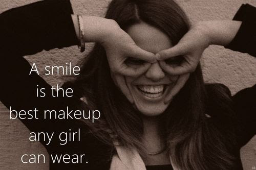 A Smile Is The Best Makeup Any Girl Can Wear Beauty Quote