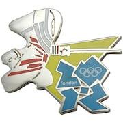 London 2012 Olympics Mascot Fencing Pin