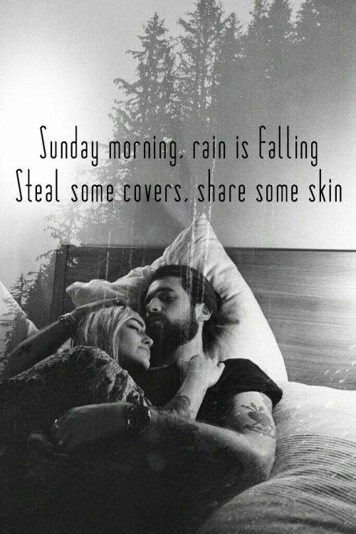 Sunday Morning Rain Is Falling Steal Some Covers Share Some