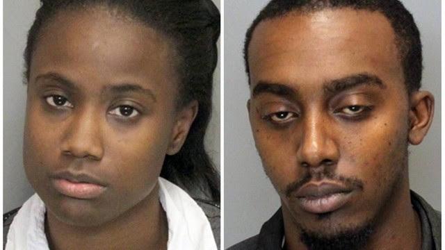 Jasmin Briana Noore e William Chester Hickson foram presos em Atlanta, nos Estados Unidos.