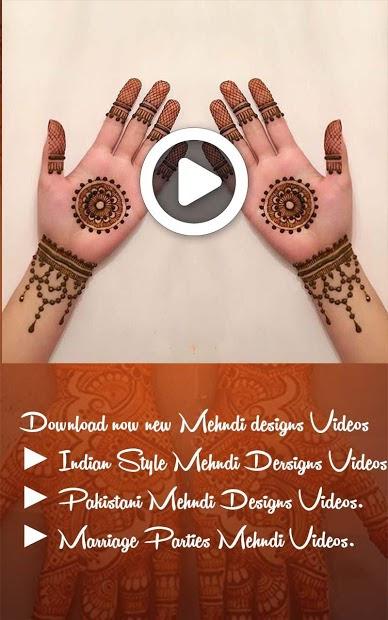 Mehndi Design Video Download
