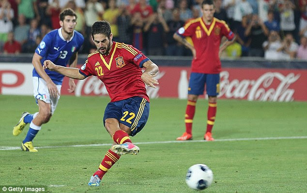 Wanted: Isco has previously admitted he is excited by the prospect of joining Real Madrid