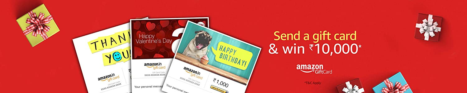 Send a Gift Card & Win Rs.10,000 Daily