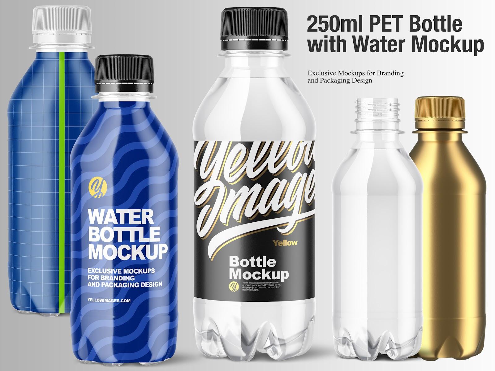 Download Plastic Oil Bottle Mockup Free Mockups