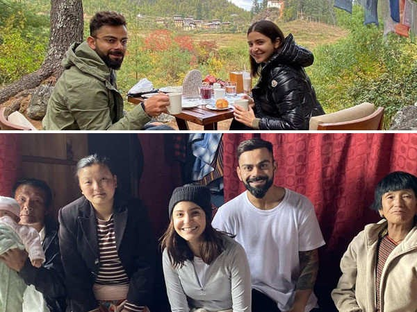 Virat Kohli's Birthday On A Trekking Trip In Bhutan