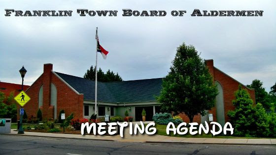 Aldermen Meeting Agenda Title Card