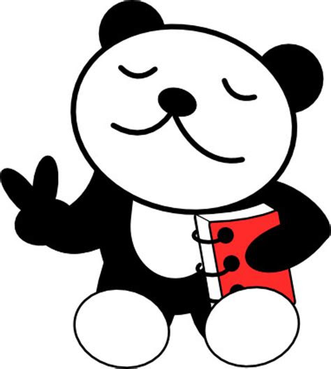 kartun panda clipart