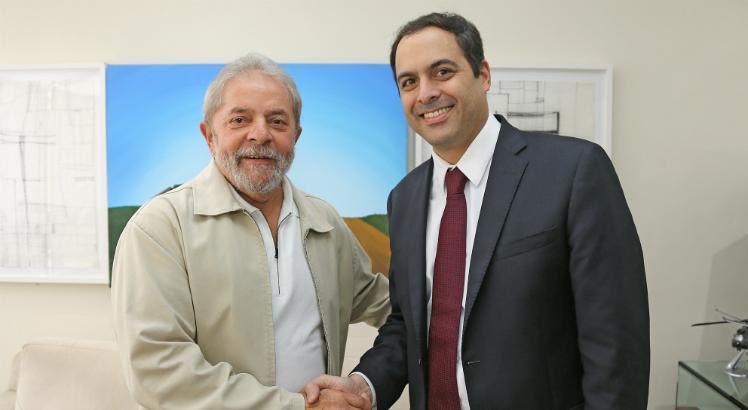 Resultado de imagem para Paulo Camara e Lula