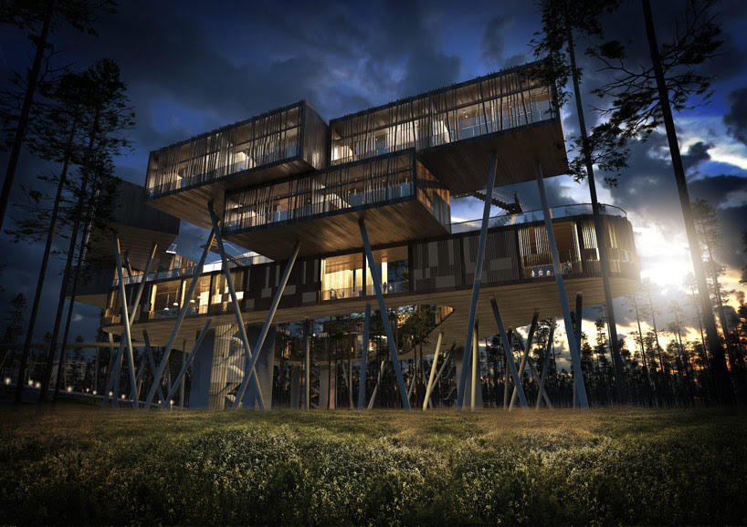 HASSELL finalize plans for mountain top wawu shan resort