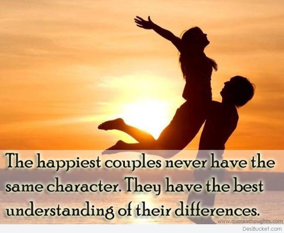Quotes About Happy Couple 45 Quotes