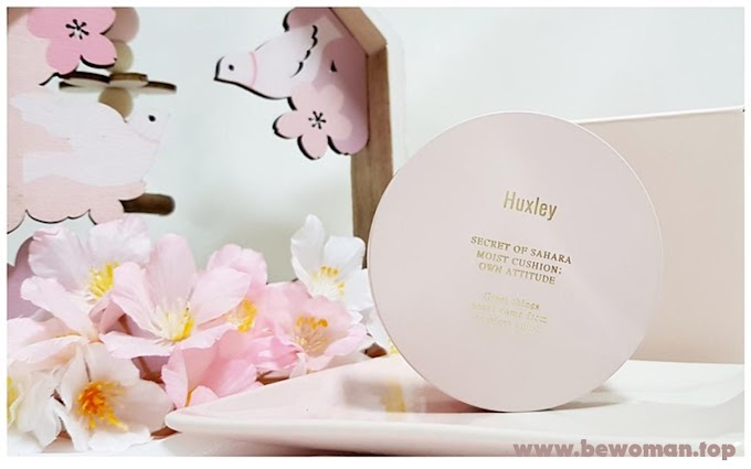 [Review] Phấn nước trang điểm và dưỡng ẩm da Huxley Moist Cushion Own Attitude