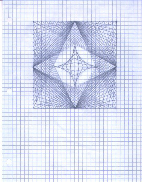 graph paper drawing  nimbleninja  deviantart