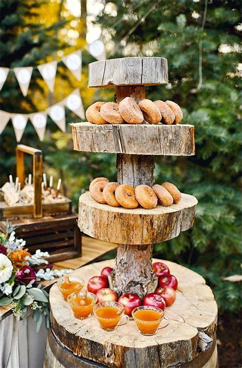 40 Amazing Outdoor Fall Wedding Décor Ideas   Deer Pearl