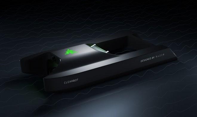Океанский мусорщик Clearbot получил фееричный дизайн от Razer