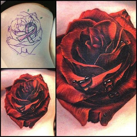 rose tattoo cover rose tattoos picture tattoos