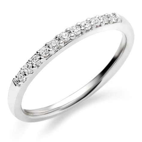 White Gold Diamond Wedding Bands for Women   Wedding and