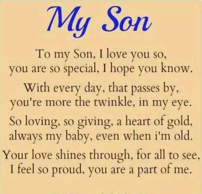 My Son Quotes My Son Sayings My Son Picture Quotes