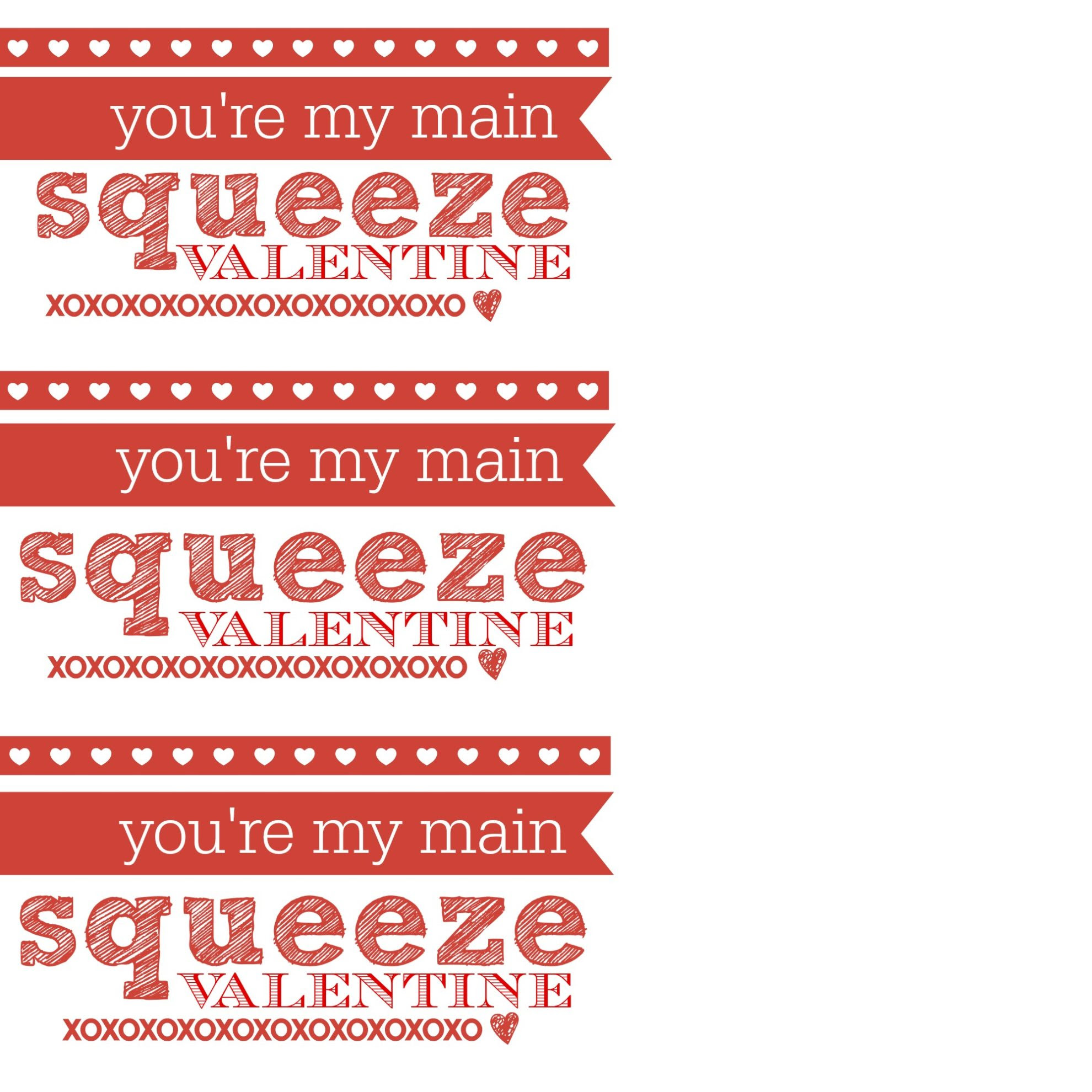 Youre My Main Squeeze Babytoddler Valentine Sew Woodsy