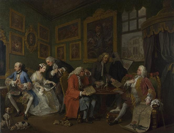 File:Marriage A-la-Mode 1, The Marriage Settlement - William Hogarth.jpg