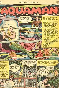 Adventure #132 Aquaman Splash Page