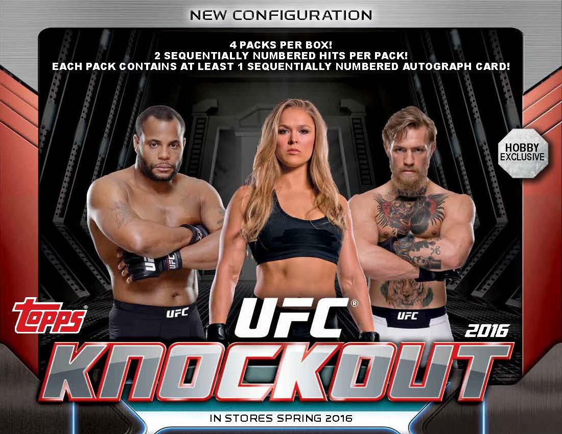 <b>2016</b> Topps <b>UFC</b> <b>Knockout</b> - Go GTS