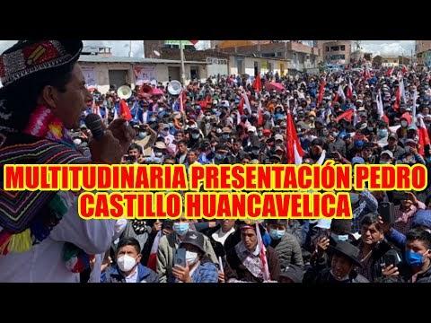 EVO PERUANO PEDRO CASTILLO TUVO MULTITUDINARIA CONCENTRACIÓN EN PAUCARA ...