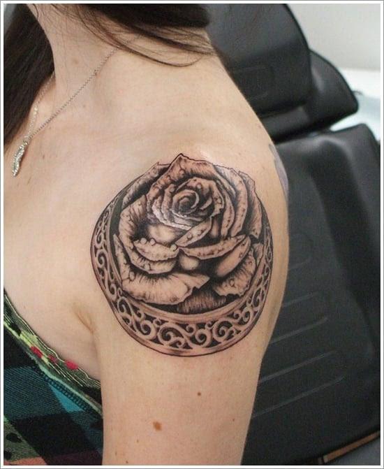 rose tattoo designs (6)
