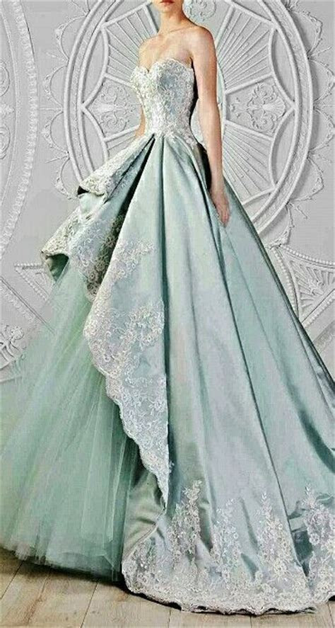 Green Wedding Dresses   CHWV