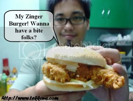 KFC Hot & Spicy Shrimp,Zinger Burger