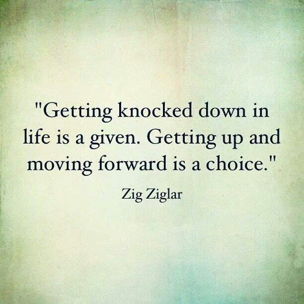Quotes About Knocked Down 124 Quotes