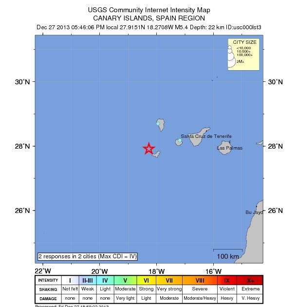 Canary Islands Seismic Activity