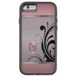 Monogram Pink Tourmaline Silver Mesh Tough Xtreme iPhone 6 Case