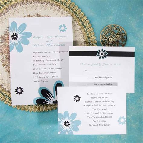 Awesome Blue Wedding Color Ideas & Wedding Invitations to