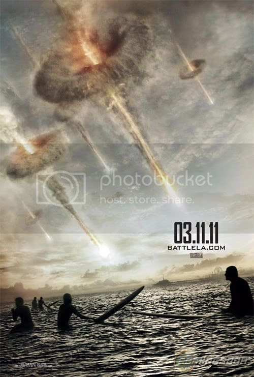 Battle: Los Angeles First Poster