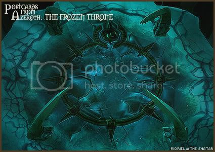 Postcards of Azeroth: The Frozen Throne, by Rioriel Ail'thera
