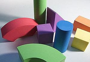 A set of blocks