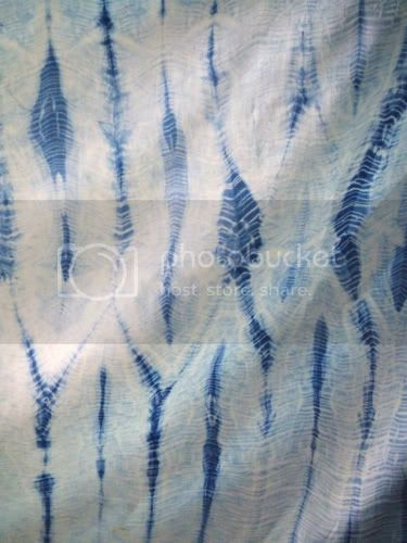 shibori,surface design, dyeing