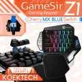 GameSir Z1 One Hand Gaming Keyboard with Battledock 1