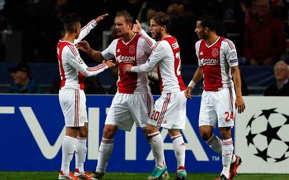 CL - Ajax v Manchester City, Siem De Jong