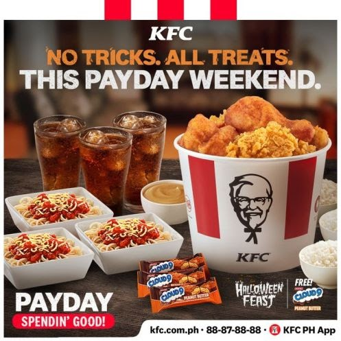 KFC Halloween Bucket Meal
