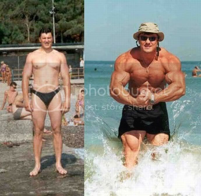 Impressive Muscle Growth