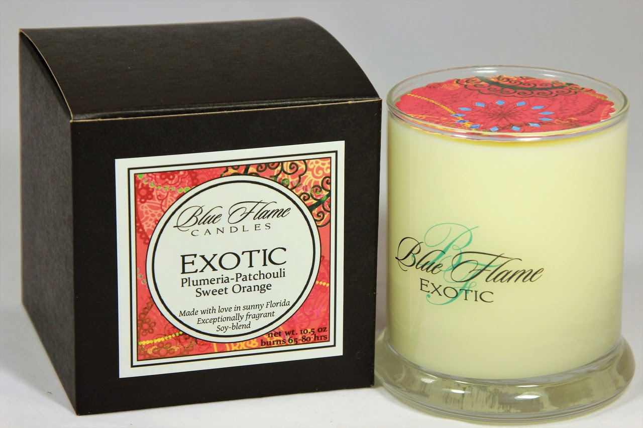 Exotic - Blue Flame Candles
