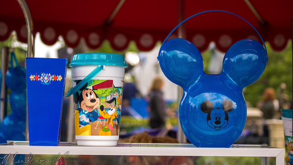 Disneyland Resort, Disneyland60, 60, Anniversary, 24, Hour, Party, Celebration, Kick, Off, Disneyland, Popcorn, Bucket, Mickey, Mouse, Balloon