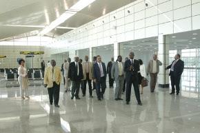 Ministerial Tour Domestic Terminal Maputo Airport