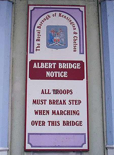 albert bridge notice